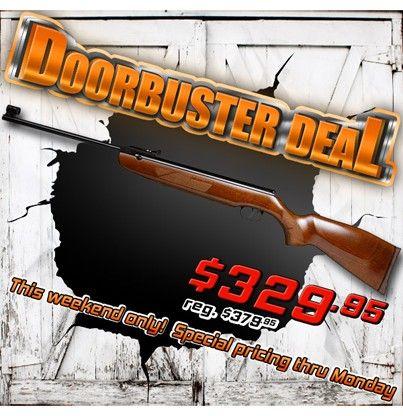Doorbuster Deal: Weihrauch HW50S Breakbarrel Discount + free Stoeger cleaning rope! http://www.pyramydair.com/s/m/Weihrauch_HW50S_Breakbarrel_Rifle/2152/3935?utm_source=pinterest_medium=social_campaign=airg-doorbuster-weihrauch-hw50s