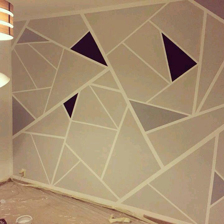 Wandgestaltung, Rund Ums Haus, Runde, Ersatzzimmer Ideen,  Hauptschlafzimmer, Jugendzimmer, Esszimmer