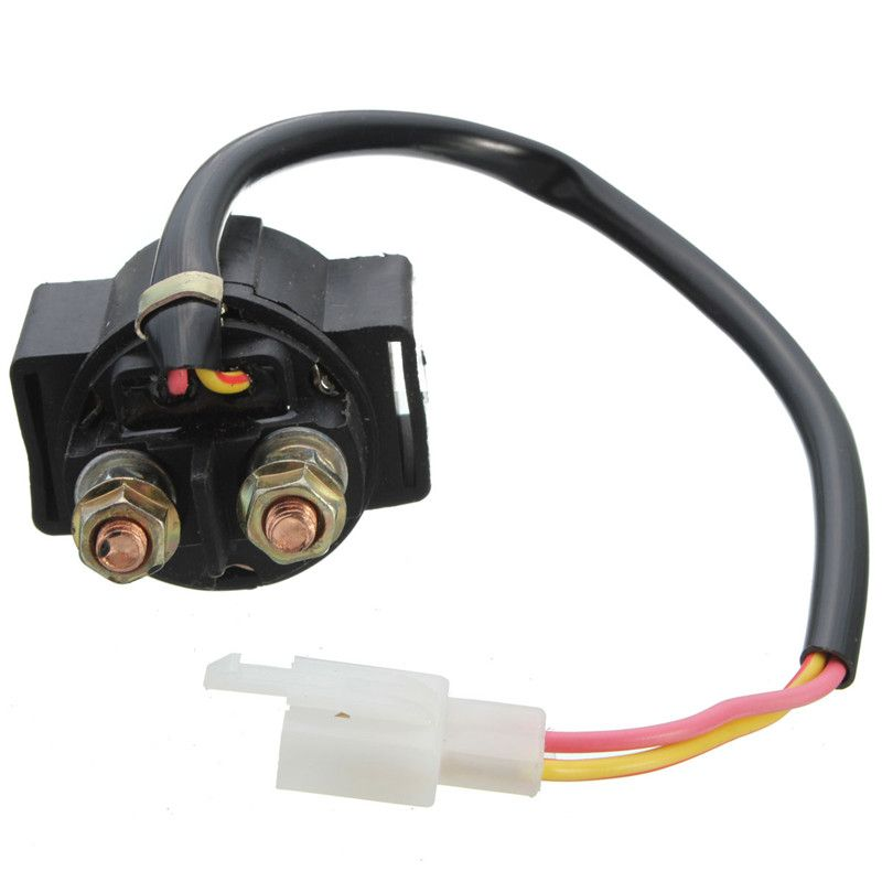 motorcycle starter solenoid relay atv 50cc 70cc 90cc 110cc. Black Bedroom Furniture Sets. Home Design Ideas