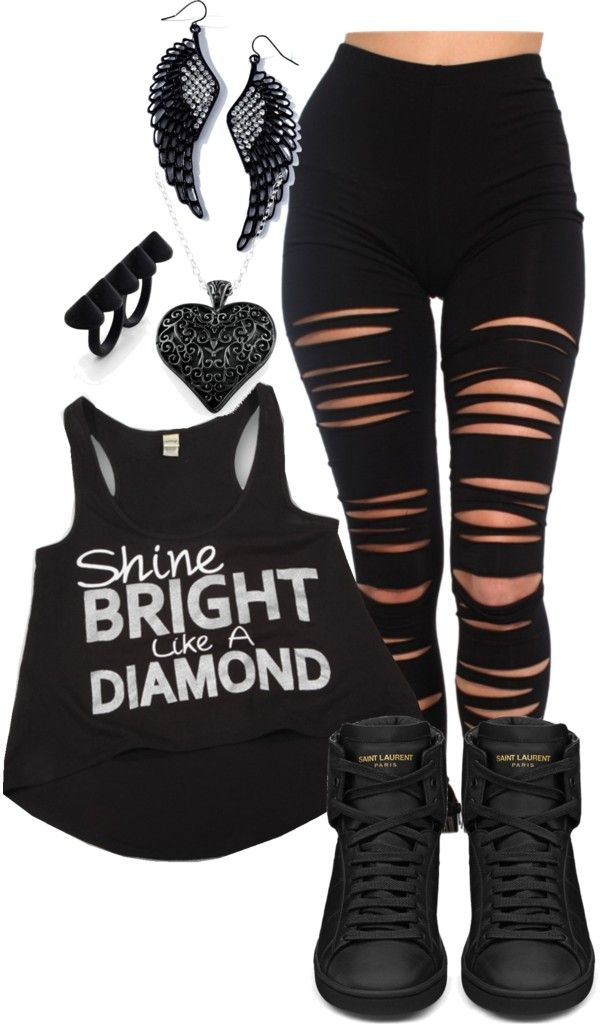 """clothing sw▲g"" by clothin ❤ liked on Polyvore"