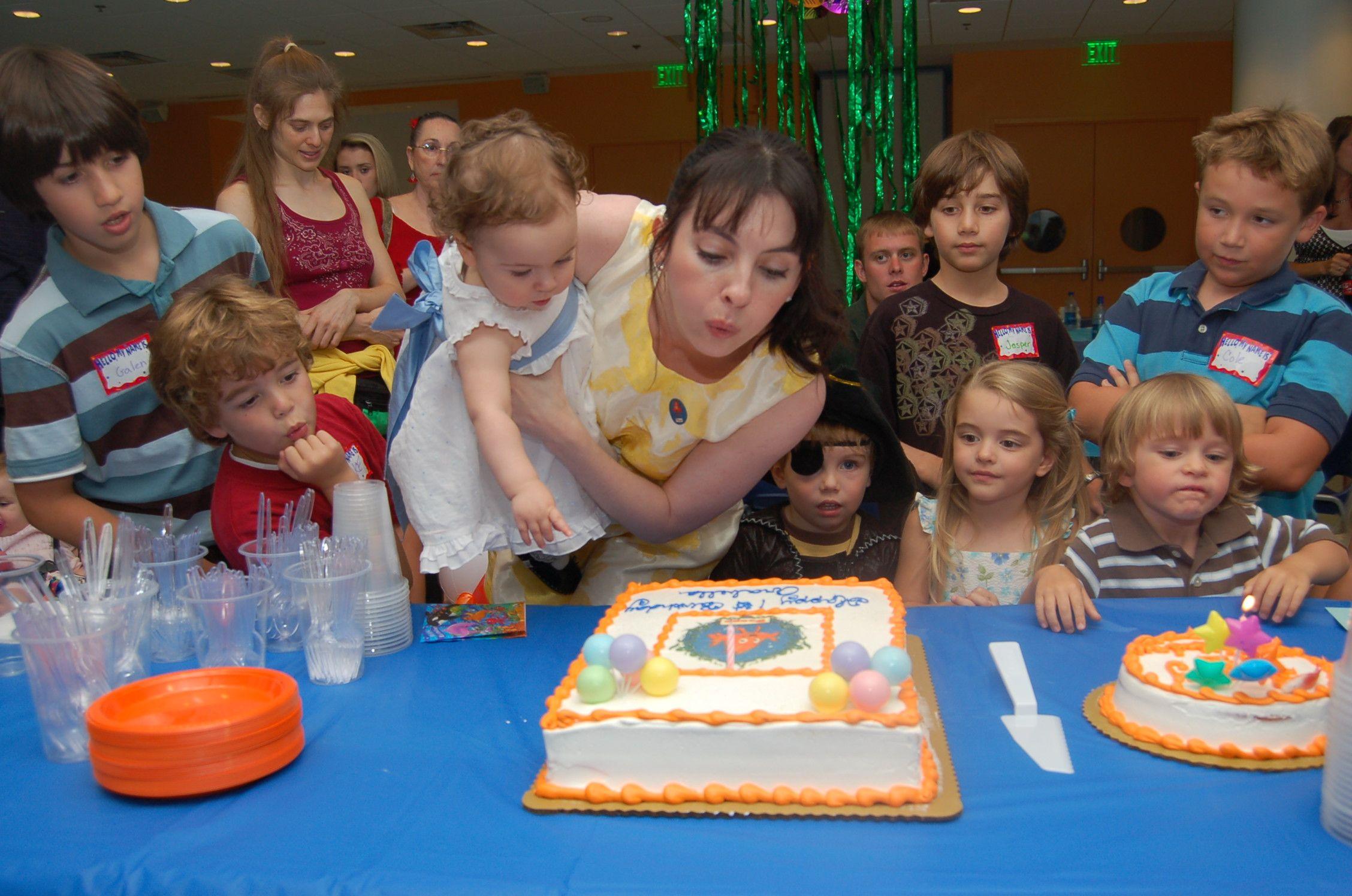 Atlanta birthday parties at Aquarium! Kids party