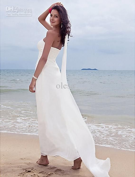 Superior Affordable Beach Wedding Dresses   3 PHOTO!