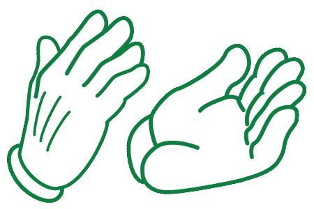 animated clapping hands gif clipart best pics for pics pinterest rh pinterest ca