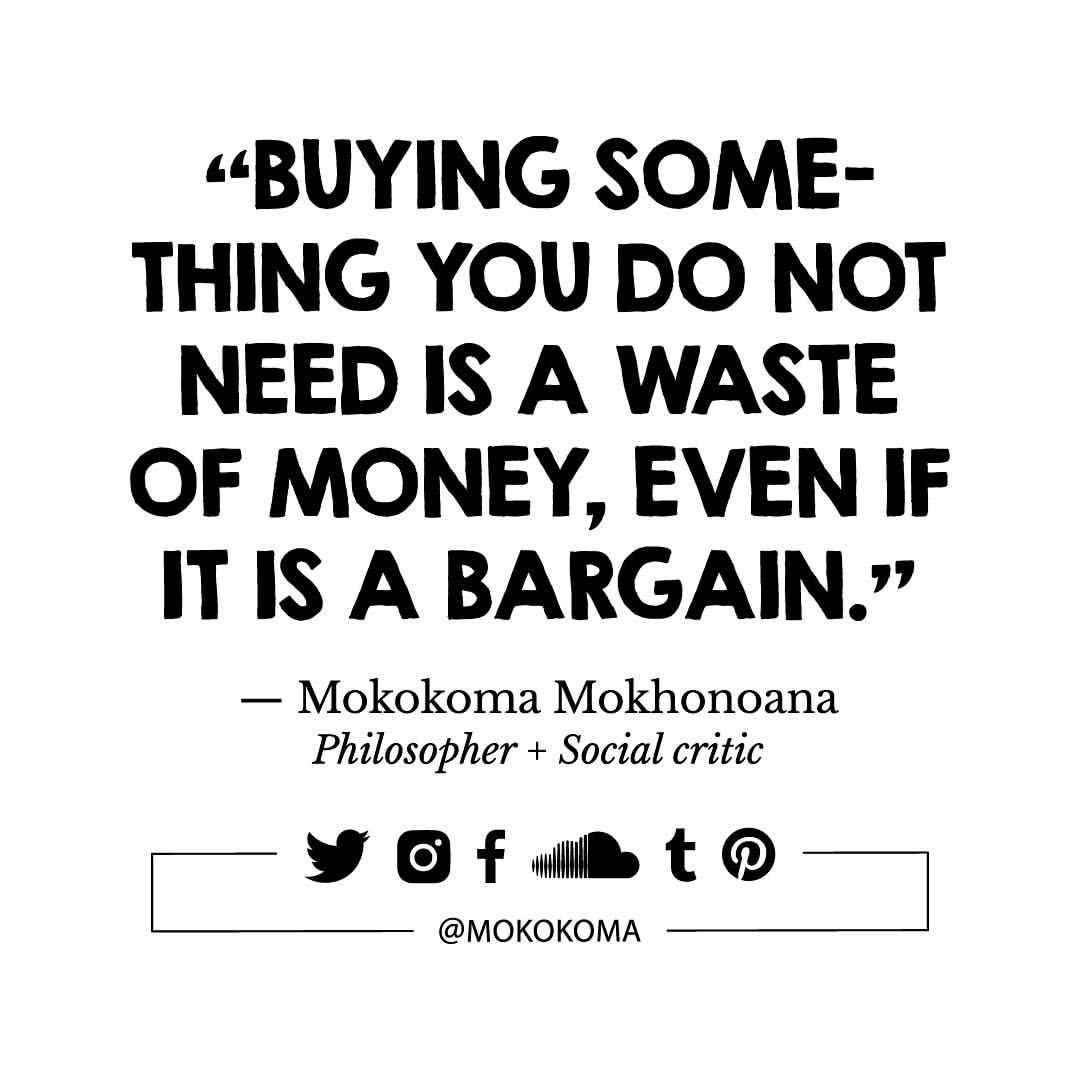 Quotes and aphorisms about shopping