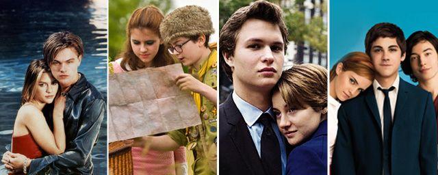 A Culpa é das Estrelas, As Vantagens de Ser Invisível, Romeu e Julieta, A Lagoa Azul... Qual é o melhor história de amor entre jovens no cinema?