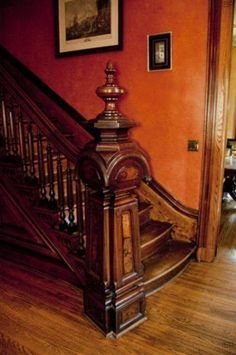 Victorian Newel Post Google Search Stair Newel Post Staircase Design Victorian Interiors