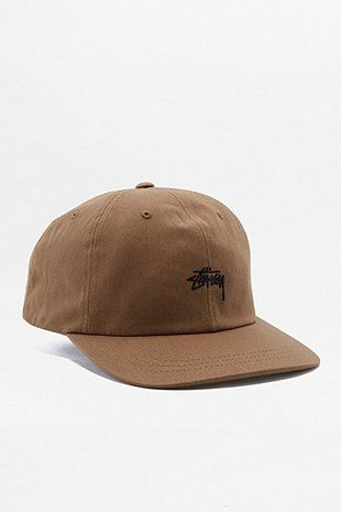 Stussy Stock Light Brown Low Cap Outfit Accessories Mens Outfits Stussy