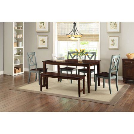 eb9c9cb91538bef041732fd9a15c3d56 - Better Homes And Gardens Bankston 6 Piece Dining Set Mocha