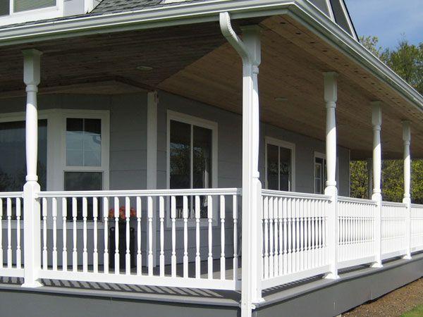 precision inc post porch vinyl systems structural posts underdeckcolumns shop accessories