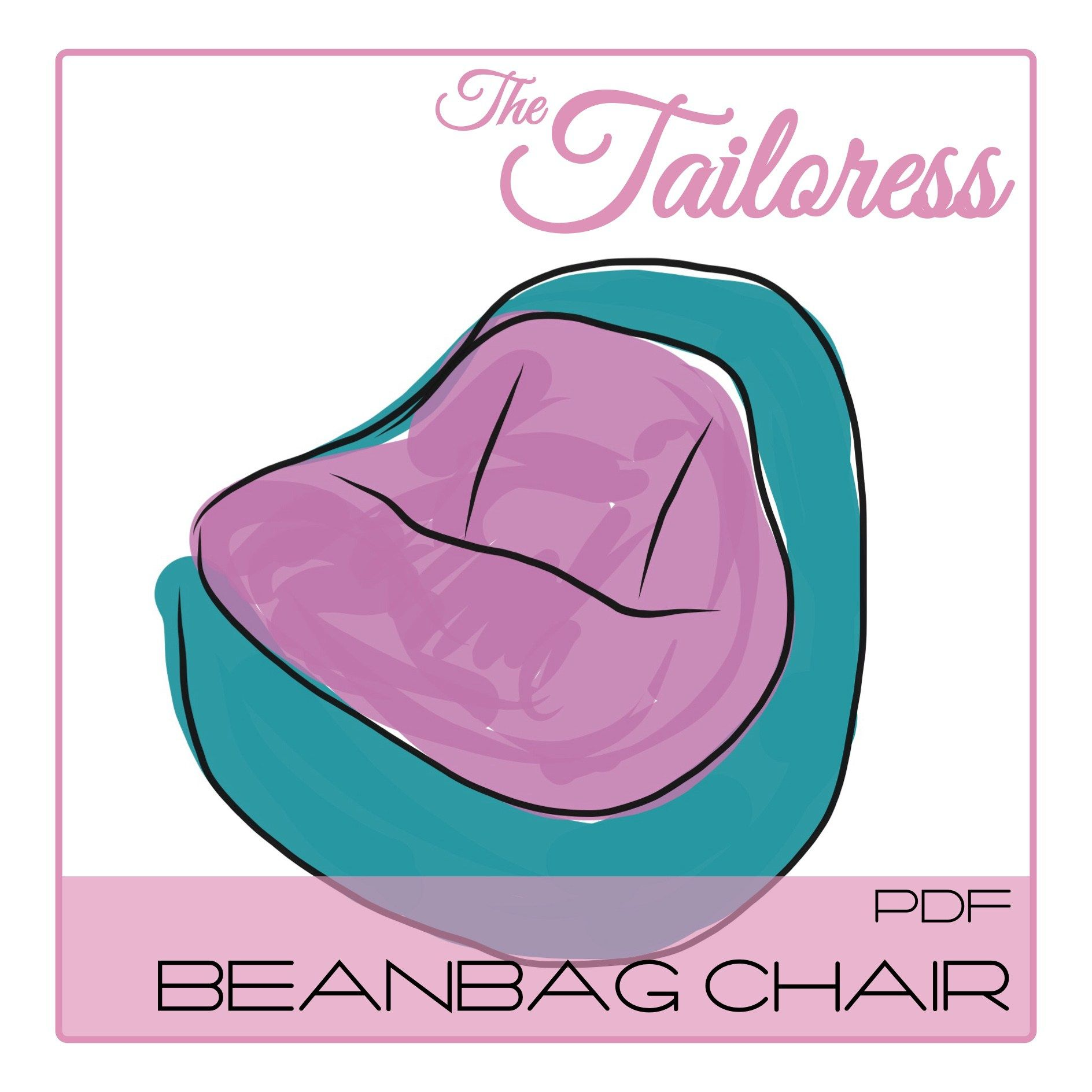 Beanbag Chair Pdf Pattern Bean Bag Chair Bean Bag Pattern Bean Bag Chair Pattern