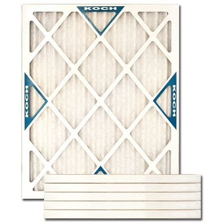 15 X 20 X 1 Merv 8 Pleated Furnace Filter 6 Pack By Koch Filter Corpora Heating And Air Conditioning Air Conditioning Equipment Air Conditioner Accessories