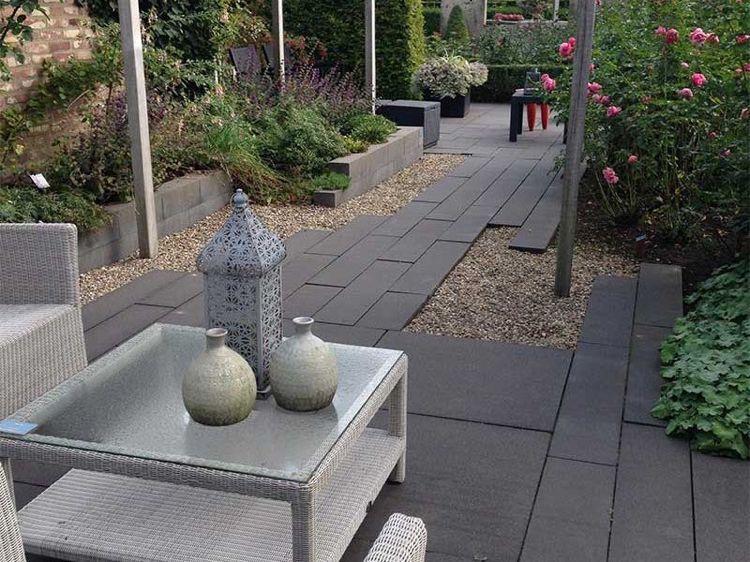 Garten mit Steinen und Kies gestalten \u2013 Tipps zur optimalen Steinauswahl - garten selbst gestalten tipps