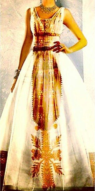 Habesha Wedding Gown