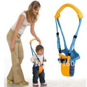 New Belt Moon Baby Walker - Learn To Walk Assistant/Helper-Orange and blue - Home Gadgets - Gadgets