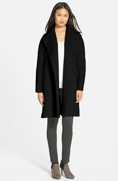 Fleurette Piacenza Wool Clutch Coat