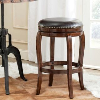 Shop for Safavieh Nuncio Espresso/ Brown 29-inch Bar Stool. Get free shipping at Overstock.com - Your Online Furniture Outlet Store! Get 5% in rewards with Club O! - 16172573