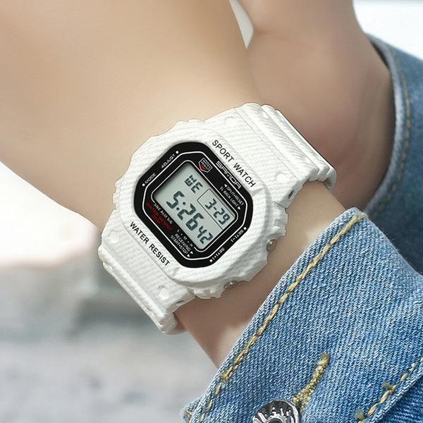 2018 SANDA Waterproof Sport Watches Women Luxury LED Electronic Digital Watch  Ladies Clock Female relogio feminino reloj mujer d97977e1954