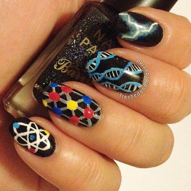 Science Nail Designs: Seni Kuku, Kuku Lucu, Dan Kuku Cantik