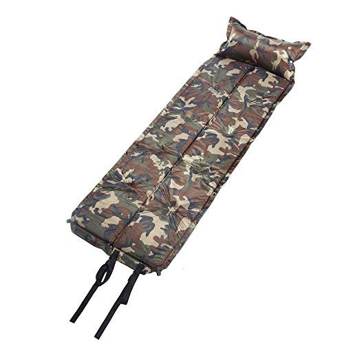 Us Military Camouflage Extensible Self Inflating Sleeping Pad Camping Mattress With Pillow You Can Find Out More Detail Camping Sleeping Pad Camping Mattress