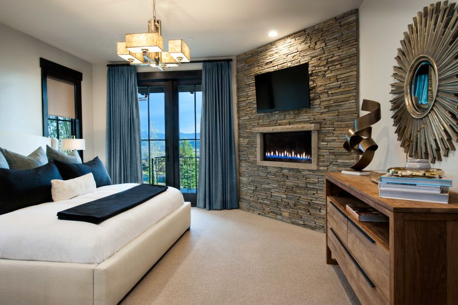electric fireplace bedroom - Google Search