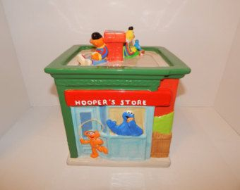 Sesame Street cookie jar (Treasure Craft)