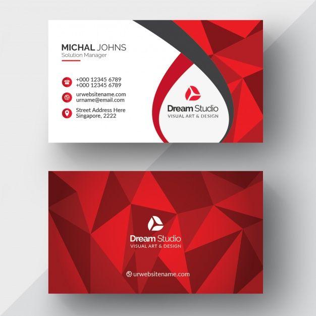 Geometric Business Card Design Business Card Ideas Business Card Design Creative Business Cards Layout