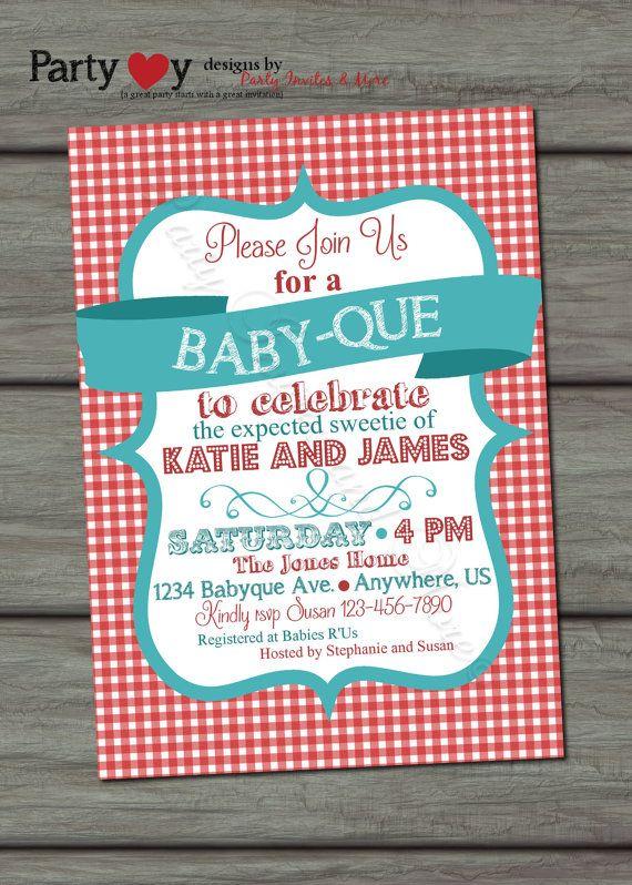 Bbq Baby Shower Invitations Cobypic Com