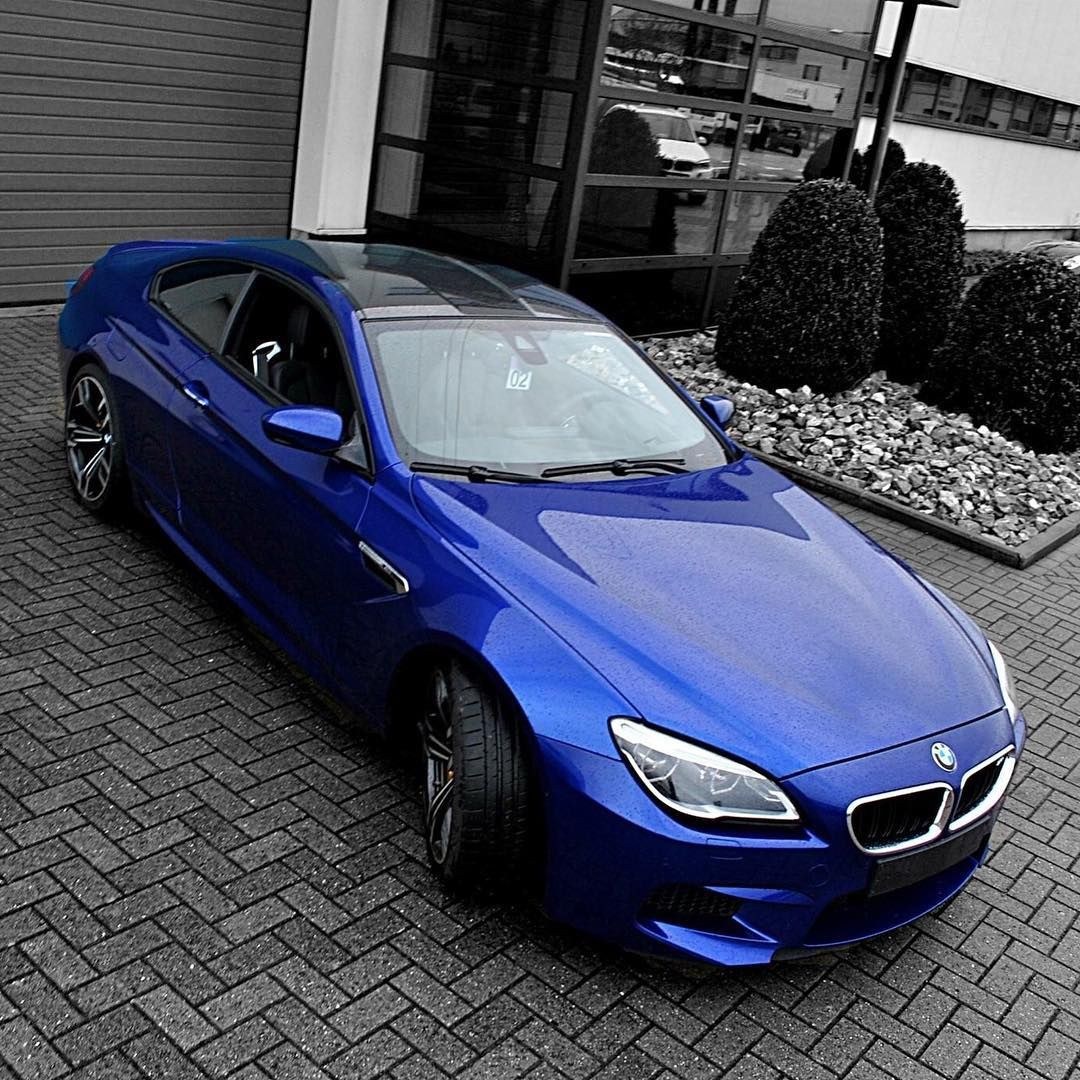 Bmw M6 F13 In San Marino Blue Via Instagram M6world Bmw