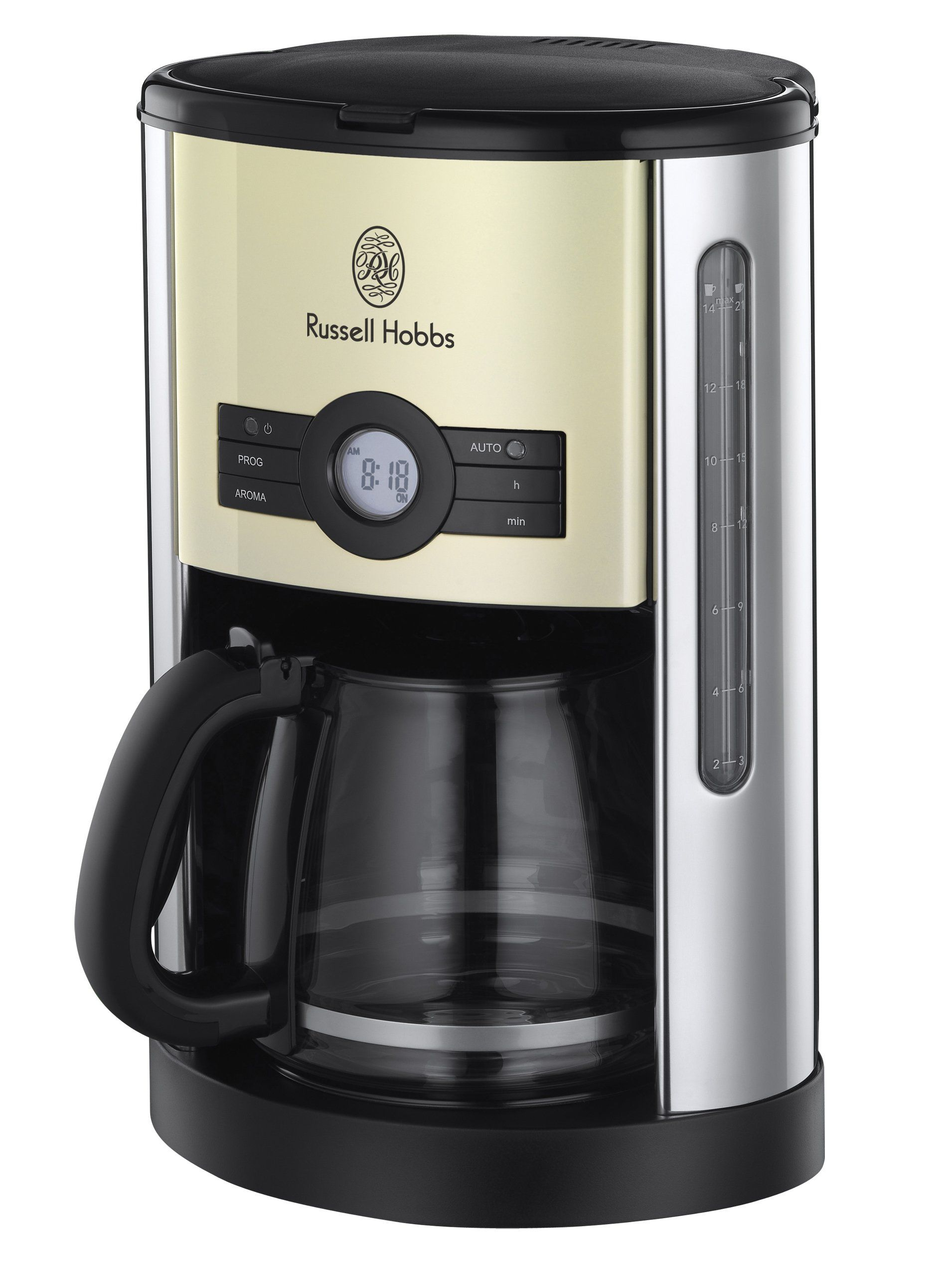 Russell Hobbs 18498 Heritage Coffee Maker Country cream