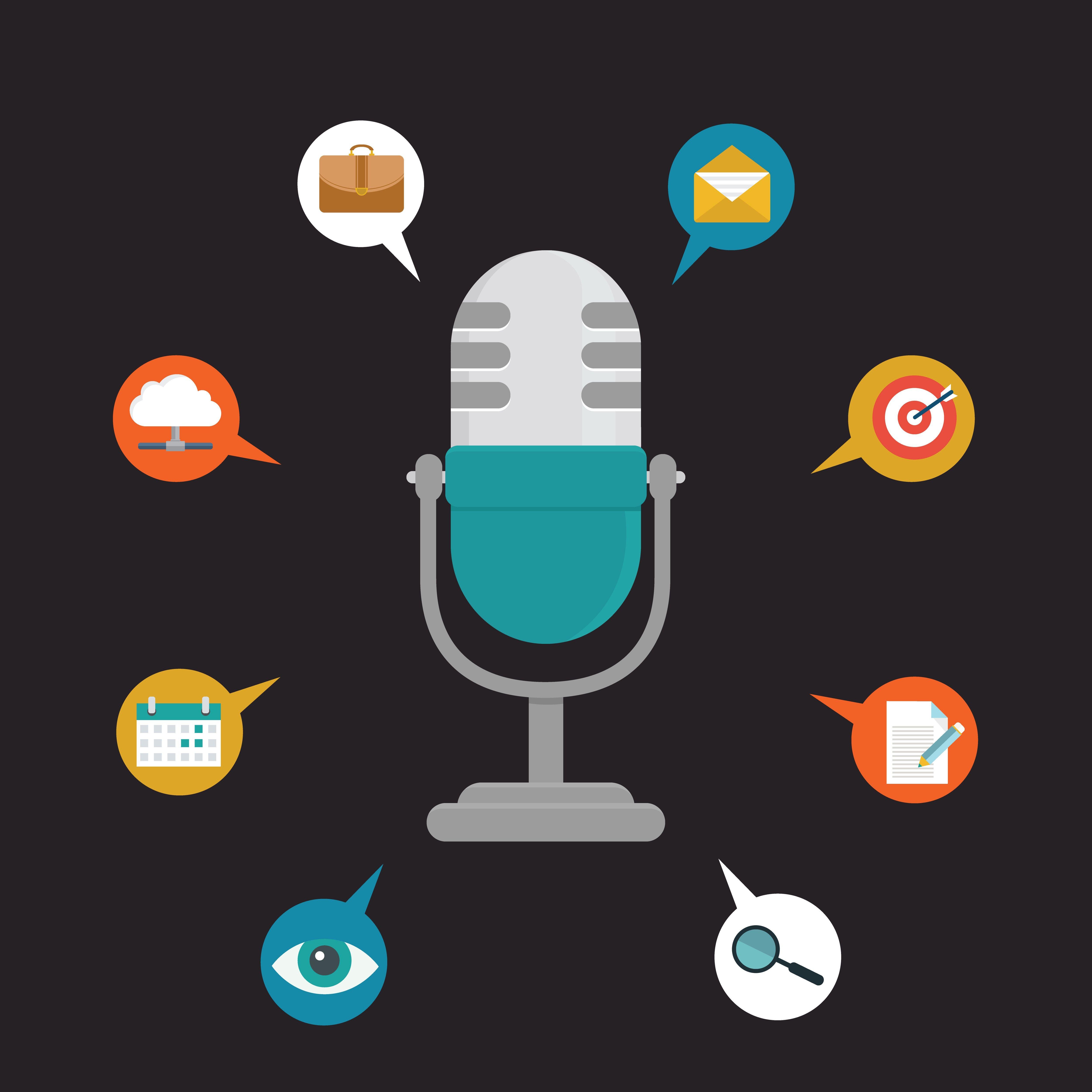 5 Unique Interview Questions Business icons vector