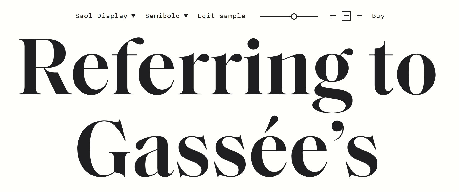 Saol Display Semibold   Fonts       Typography   Typography