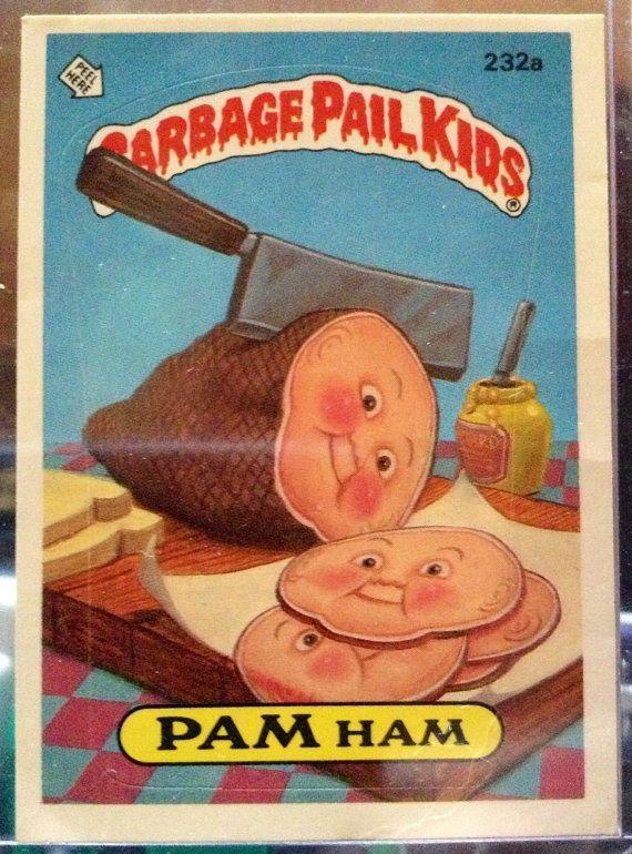 Food Themed Garbage Pail Kids Ateriet Garbage Pail Kids Garbage Pail Kids Cards Kids Cards