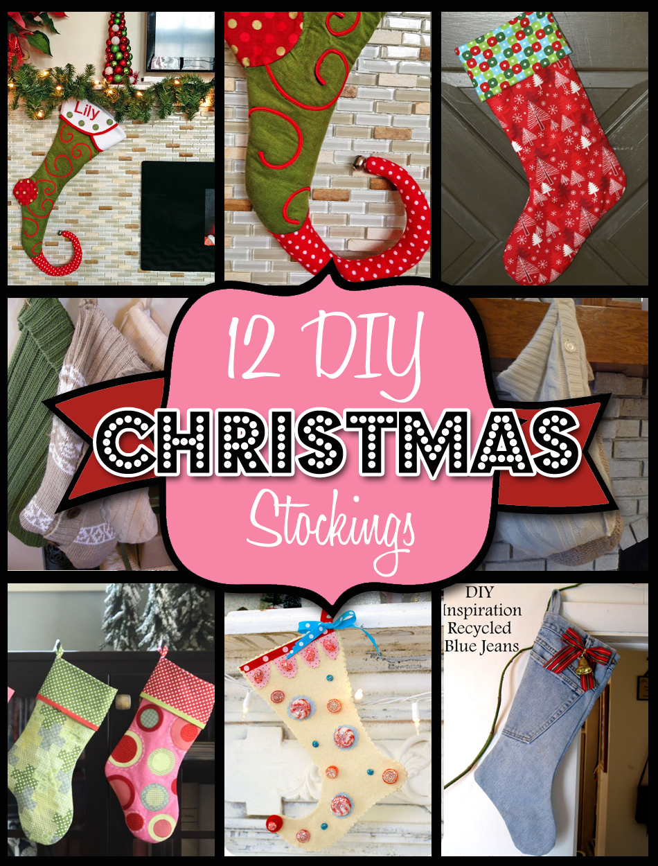 Beautiful 12 Christmas Stocking Patterns And Ideas