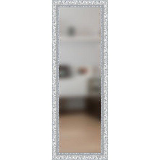 Miroir Louise Gris L40 X H140 Cm Molduras Hergon