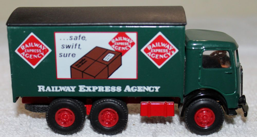 1 64 Scale Mack Railway Express Delivery Truck By Ahl Hartoy