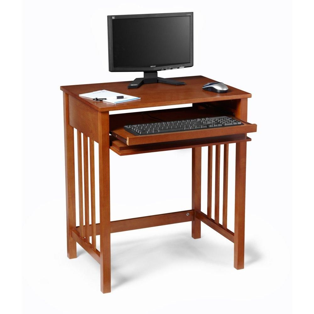 "Mission Hardwood Computer Table - 27"" In 2019"