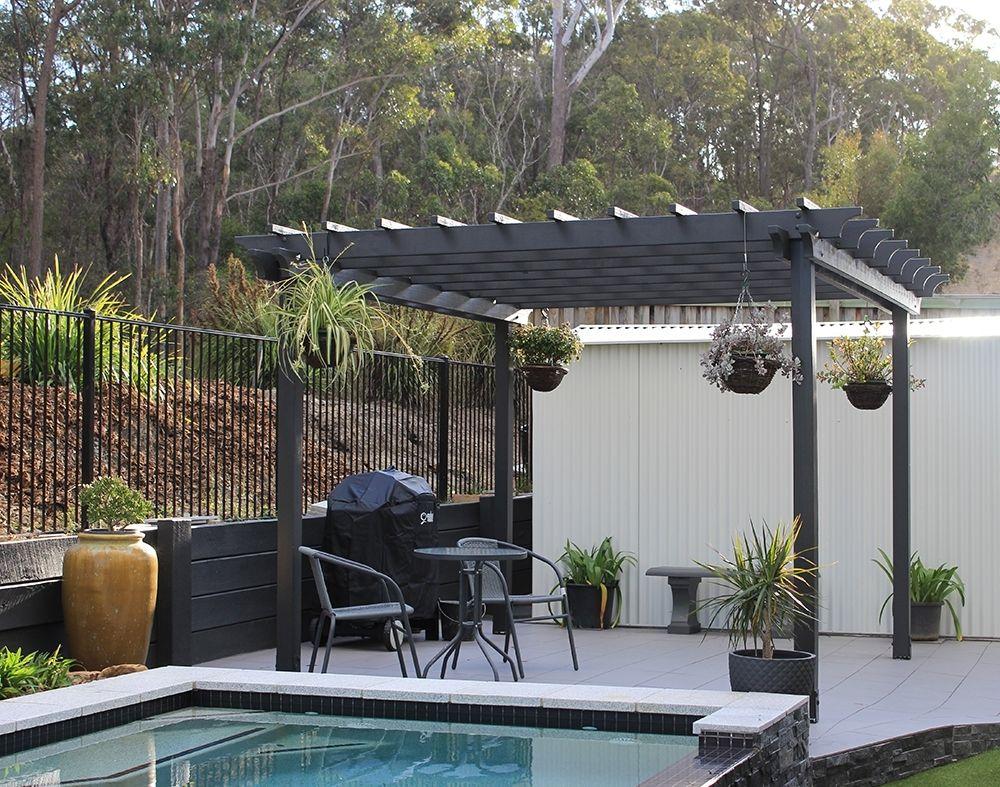 GardenGarden Winds Pergola Pertaining To Astonishing Outdoor
