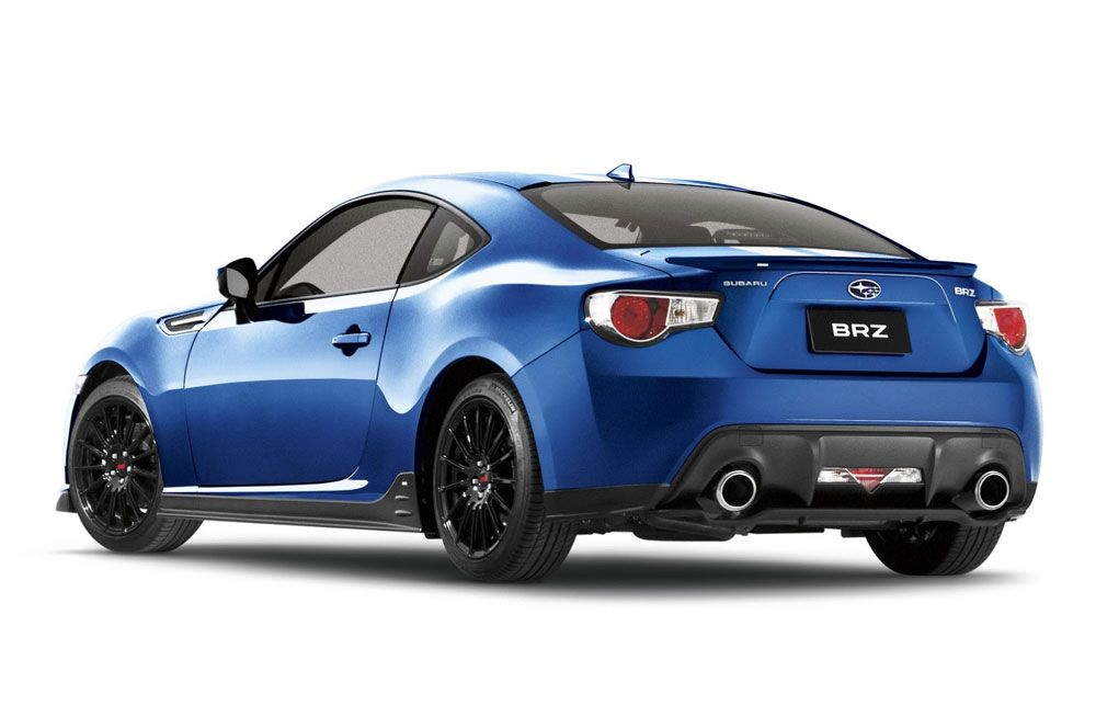New Review Subaru BRZ Special Edition Release Rear View