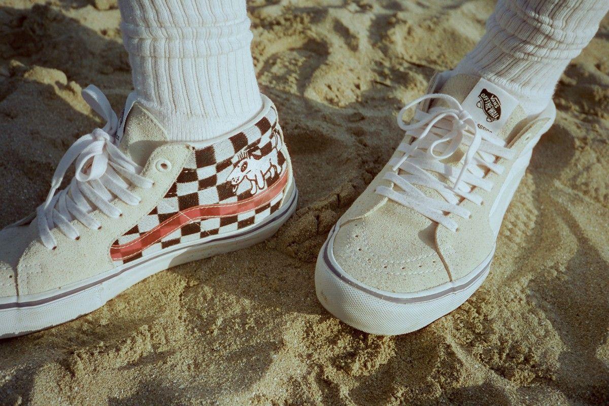 Alltimers x Vans Sk8 Mid Pro Praise your shoes
