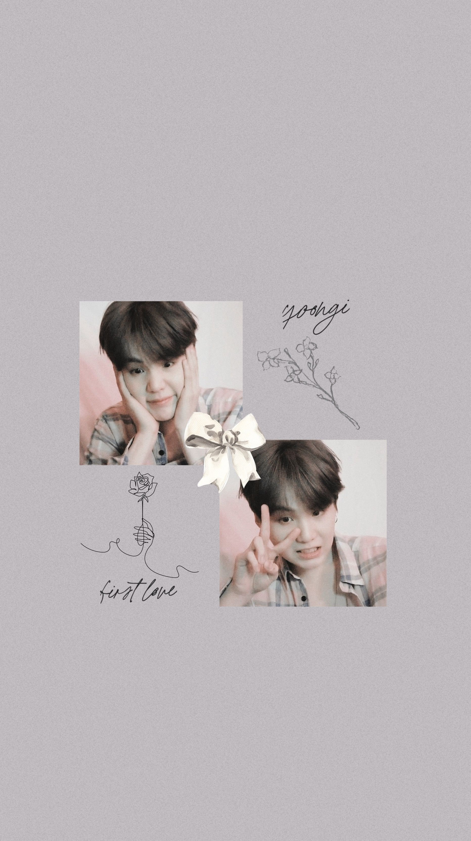 Suga Yoongi Bts Wallpaper Lockscreen Gambar Realistis Gambar Kertas Dinding