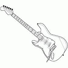 dibujos a lapiz de guitarras electricas  Buscar con Google