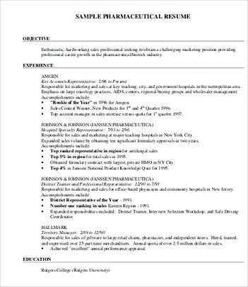Pharmaceutical Product Manager Resume , Product Manager Resume - pharmaceutical resume