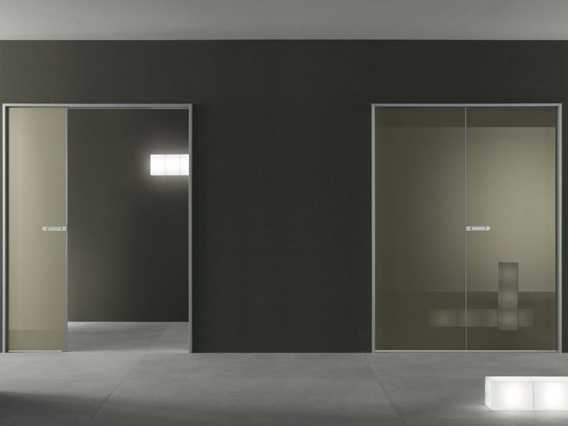 Contemporary Glossy Internal Doors Link By Rimadesio