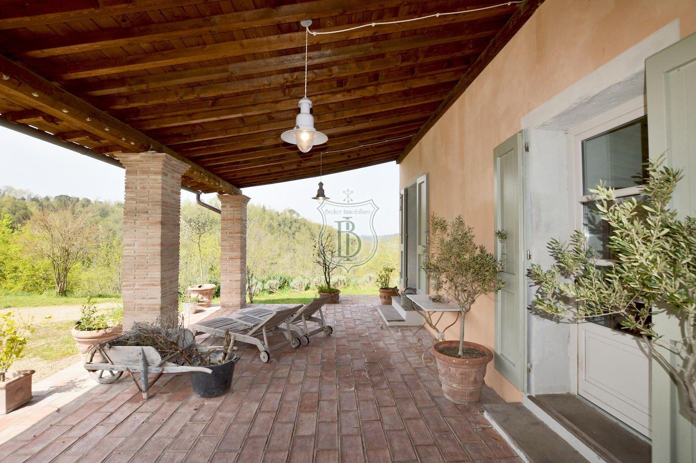 Casale Ristrutturato In Vendita Sulle Colline Pisane Progetto Casa Disegni Esterno Casa Rustico