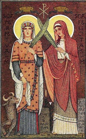 Image result for free pictures of  St. Perpetua and Felicity