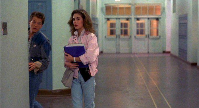 Hill Valley High School Was Filmed At Whittier High School 12417