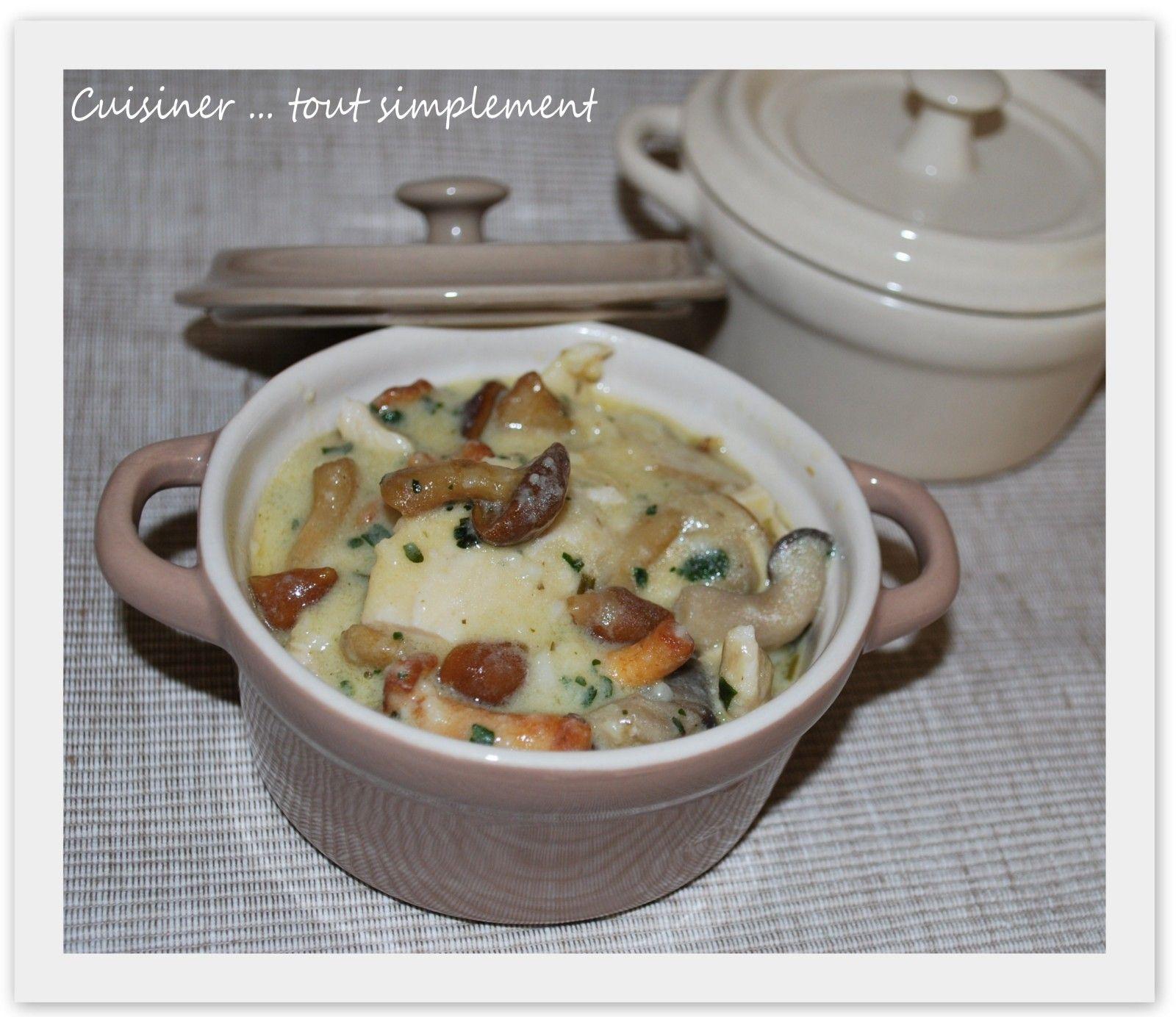Emincé de Poulet au Riesling et aux Champignons - Cuisiner... tout Simplement, Le Blog de cuisine de Nathalie