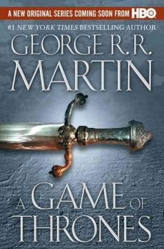 """A Game of Thrones, by George R. R. Martin (F Martin/pb):  A tale of court intrigues in the land of Seven Kingdoms, a country """"blessed by golden summers that go on for years, and cursed by cruel winters that can last a generation."""" Treachery, murder, incest."""