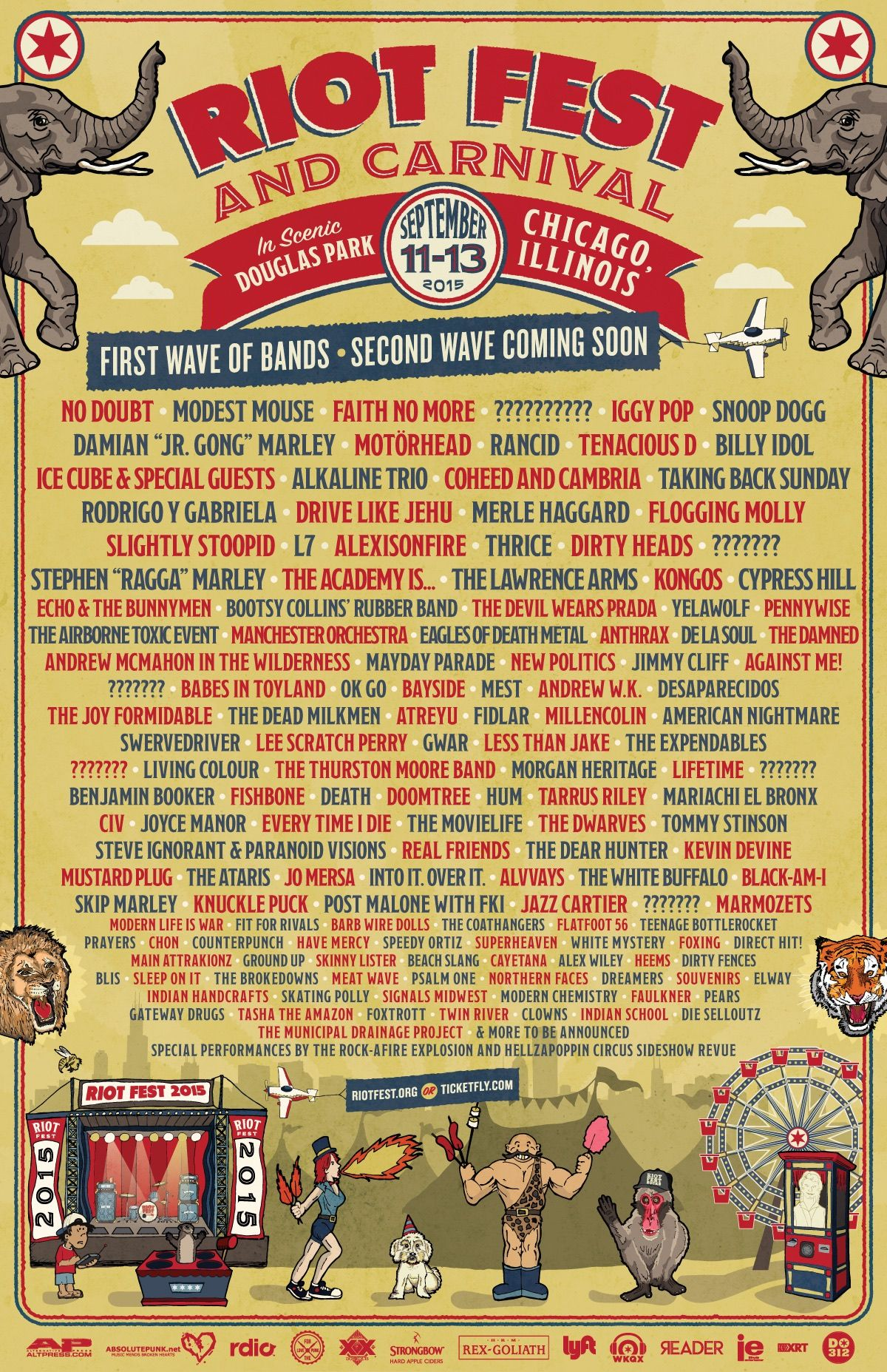 Riot Fest!! My favorite festival of the year!!!