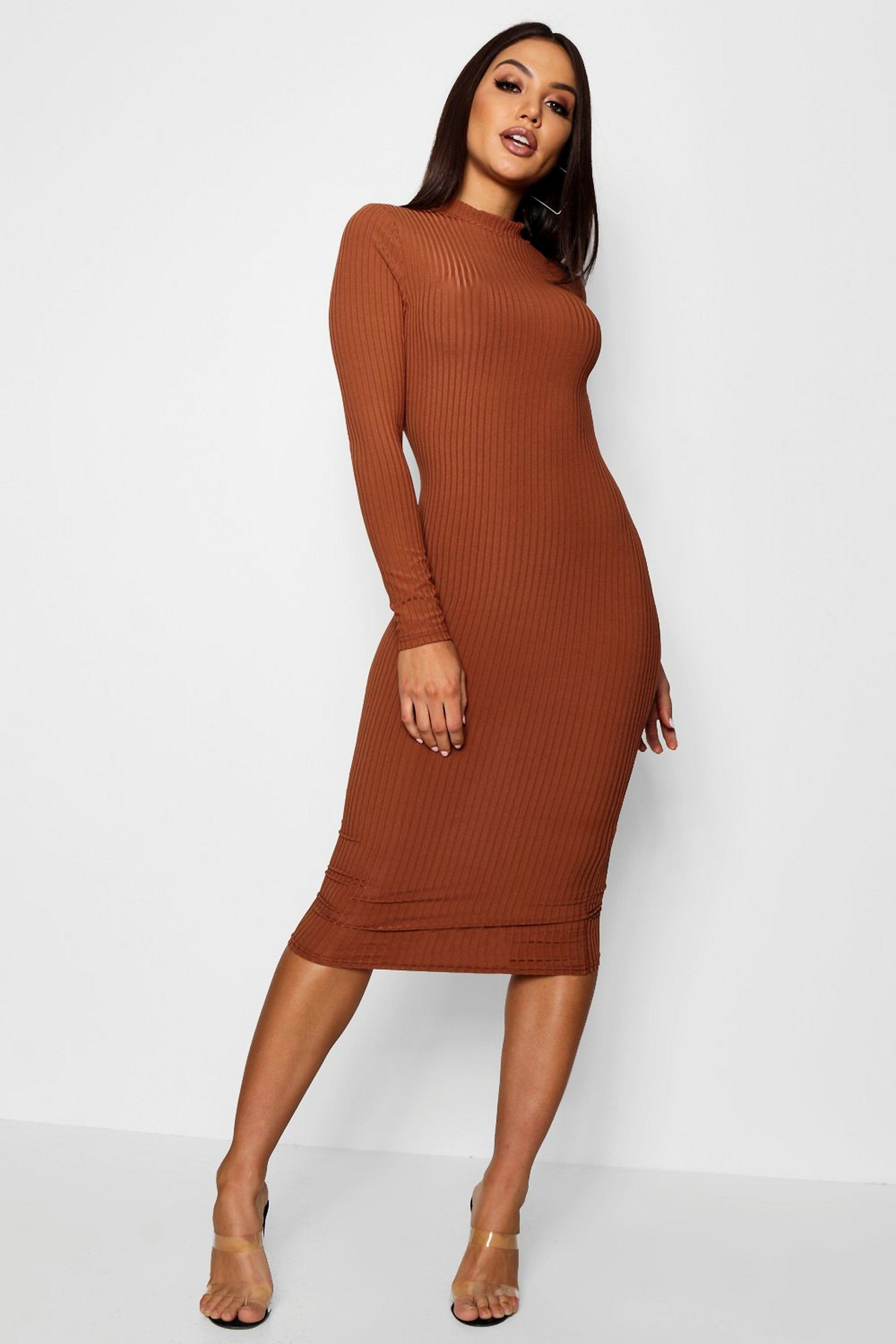 body con maxi skirt Long Sleeve Dress Knit Maxi Dress Thin body con dress long dress women in canada dress for girl dresses for women